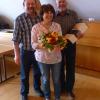 40. HOCHZEITSTAG - Ehepaar Weithmann (mit Vorstand G. Fahrenschon, 4.10.2017)
