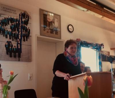 die neue Vorsitzende: Anneliese Winkler