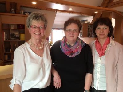 das neue Trio: Monika Oehrle, Anneliese Winkler, Beate Renz