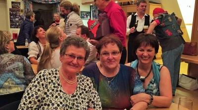 Rosa Ricker, Anneliese Winkler und Beate Renz